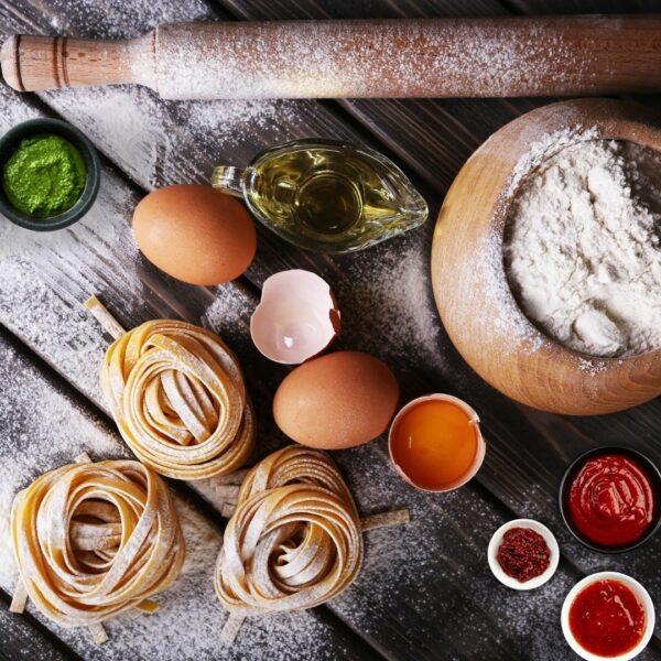 Salse, panificazione, pasta, olio e condimenti